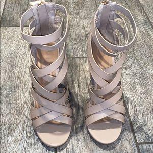 Gladiator/Cage Style Heels